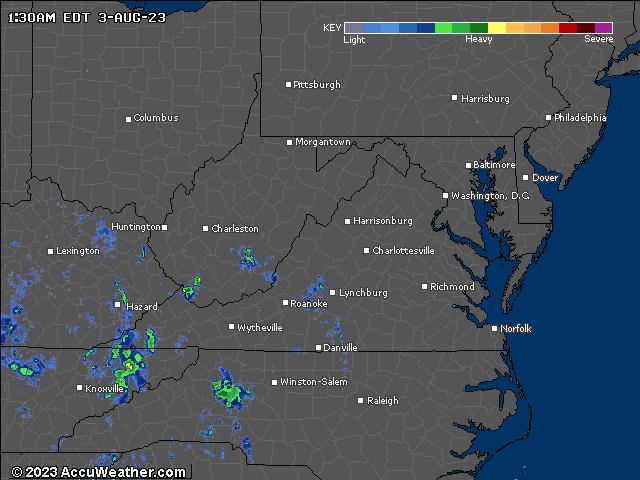 Radar map